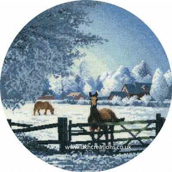 Hard Frost Cross Stitch Kit